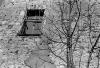 Mostar - wall, window and tree