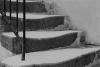 Escalier enneigé - 1