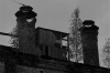 Schkeuditz - factory chimneys