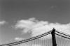 Manhattan Bridge and sky