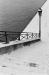 Ile Saint Louis - escalier enneigé