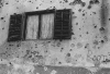 Mostar - shutters and wall